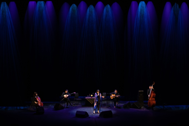 Claudia Aurora live at the Royal Opera House, Oman